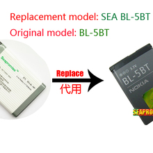 8aeb3655917 Free shipping Retail mobile phone battery BL-5BT BL 5BT BL5BT for NOKIA  2600C 2608