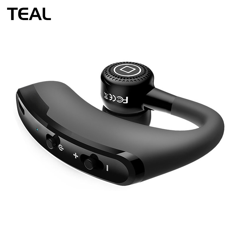 [TEAL] V9 Negocio Manos Libres Auricular Bluetooth Wireless Control de Voz Depor
