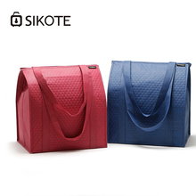 SIKOTE 25L Cooler Bags Large Insulated Bag Women Kids Thermal Lunch Box Wine Food Textile Waterproof Storage Picnic