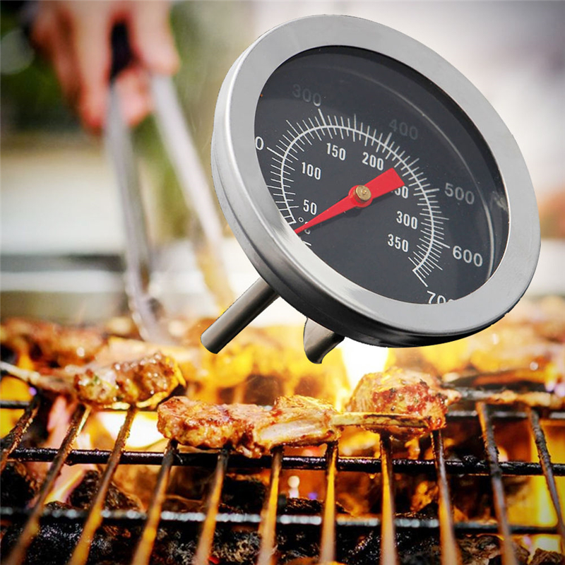 Brand New Stainless Steel Barbecue BBQ Grill Thermometer ...