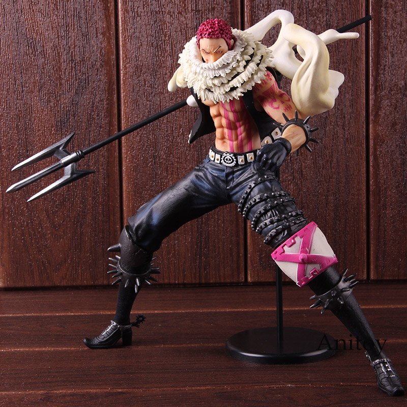 Portrait of Pirates One Piece P.O.P Charlotte Katakuri PVC One Piece Katakuri Figure Action Collectible Model ToyPortrait of Pirates One Piece P.O.P Charlotte Katakuri PVC One Piece Katakuri Figure Action Collectible Model Toy