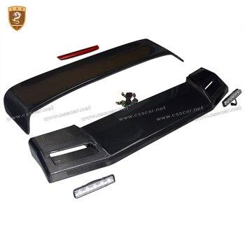 איכות גבוהה סיבי פחמן ספוילר עבור מרצדס בנץ G W463 G63 G65 G500 G350 G55 W463 אחורי קדמי גג ספוילר גוף ערכות