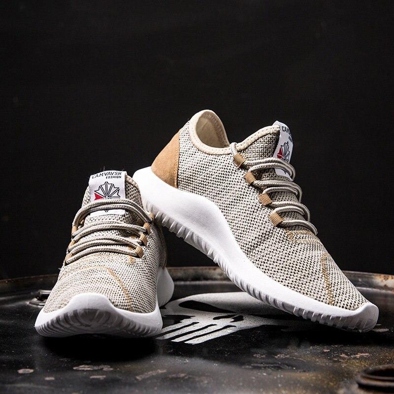 Männer Casual Schuhe Atmungsaktiv Schwarz Männer Schuhe Casual Schuhe Müßiggänger Zapatos Hombre Casual Schuhe Männer Trainer Chaussure Homme