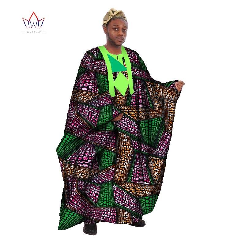 Egendefinert menn Afrikansk klær Langermet menn Løs Thobe Robe - Nasjonale klær - Bilde 4