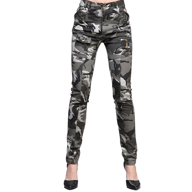 Women Pants Camo Military Style High-Quality Pants Fashion 2018 Hot Sale Casual Trousers Fit Sportswear Leggings Female Clothing
