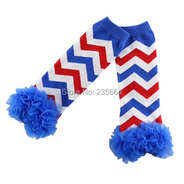 2016 Freeshipping Wholesale 4th Of July Ruffles Leg Warmers For Baby Girls,chevron Patriotic Warmers/kids And Girls Leggings