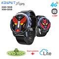 Новый Kospet Optimus Pro Smartwatch телефон с gps 4G часы телефон Водонепроницаемый Android 7,1 2 Гб 16 Гб/3 ГБ 32 ГБ умные часы с WiFi мужские