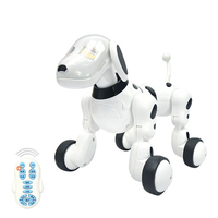 Dog Robot Music Digital Pet Intelligent Robot Dog 2.4G Wireless Remote Control Electronic Toys Talking Toy Kid Pet Birthday Gift