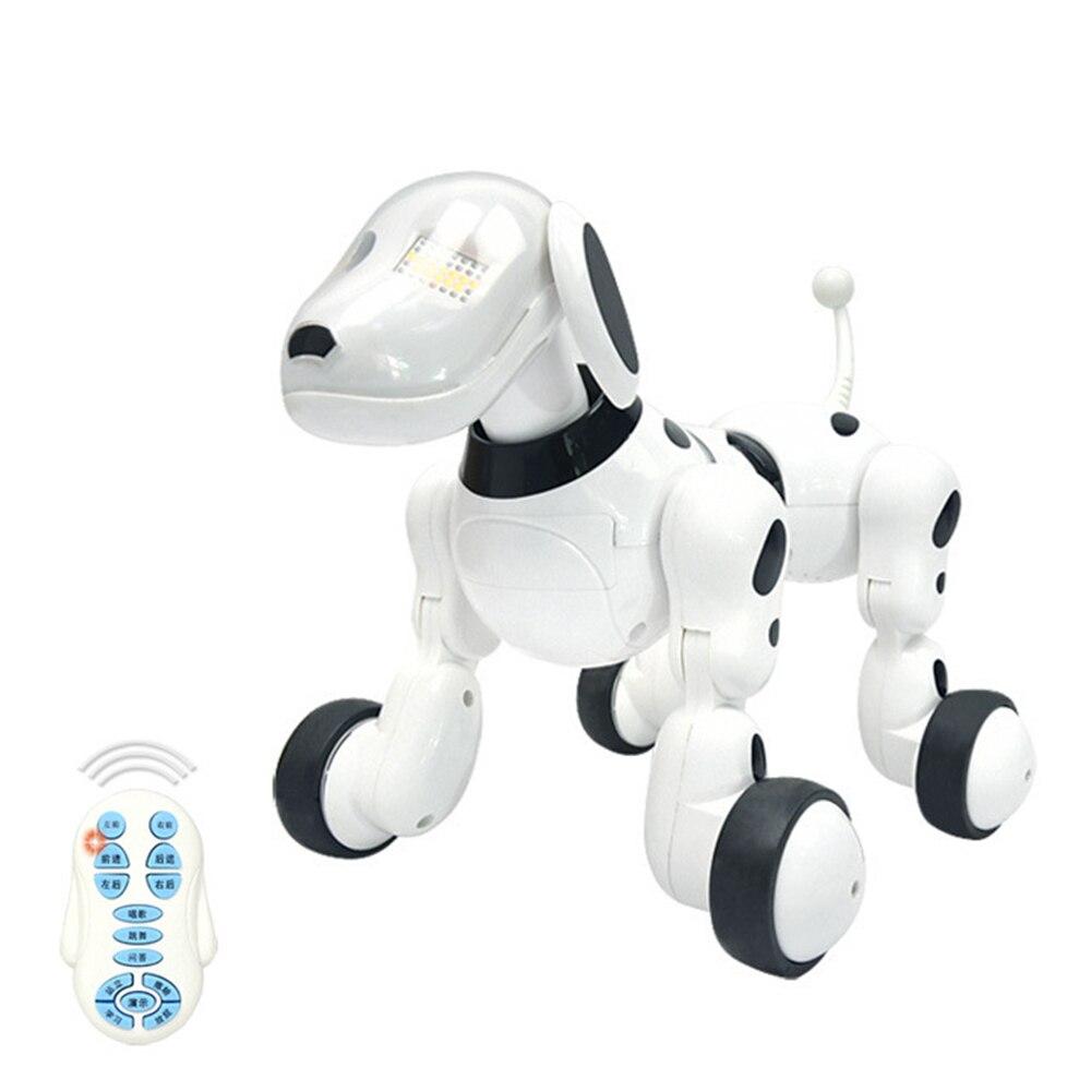 Dog Robot Music Digital Pet Intelligent Robot Dog 2.4G Wireless Remote Control Electronic Toys Talking Toy Kid Pet Birthday Gift
