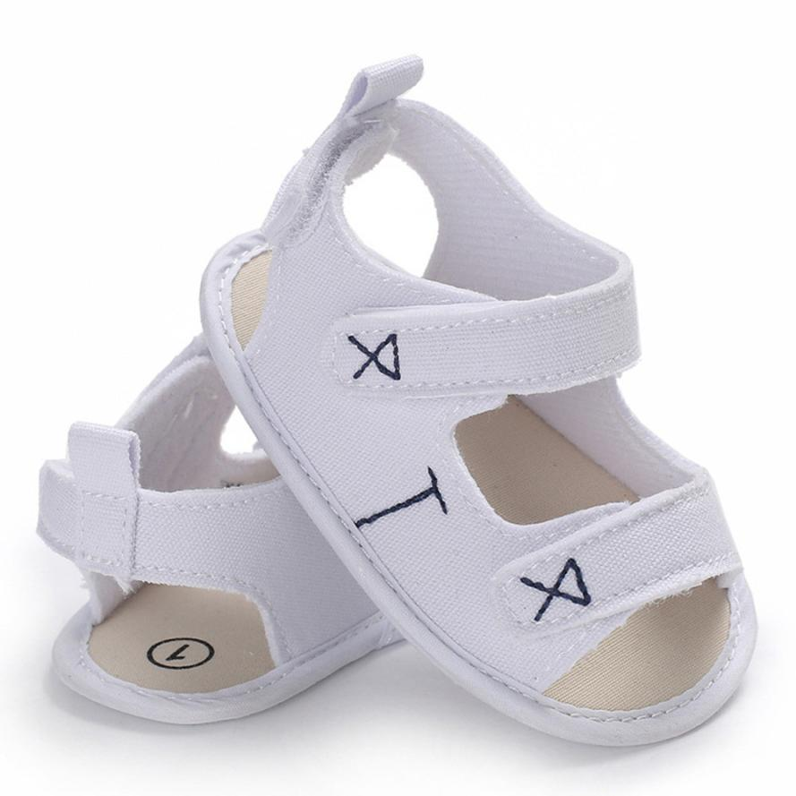 BMF TELOTUNY Fashion Canvas Ssandals Infant Toddler Newborn Baby Boys&Girls Embroidery Soft Sole Anti-slip Shoes Mar25