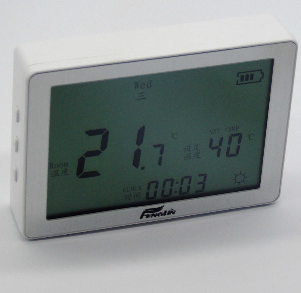 Digital Screen Gas Boiler Thermostat Wire For Battery Powered (HS-B709)