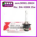 Новое и высокое качество D4S 4300 К Xenon HID лампы Фар OEM 90981-20024 9098120024