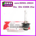 new and  high  quality    D4S 4300K  Xenon HID bulb Headlight   OEM 90981-20024 9098120024