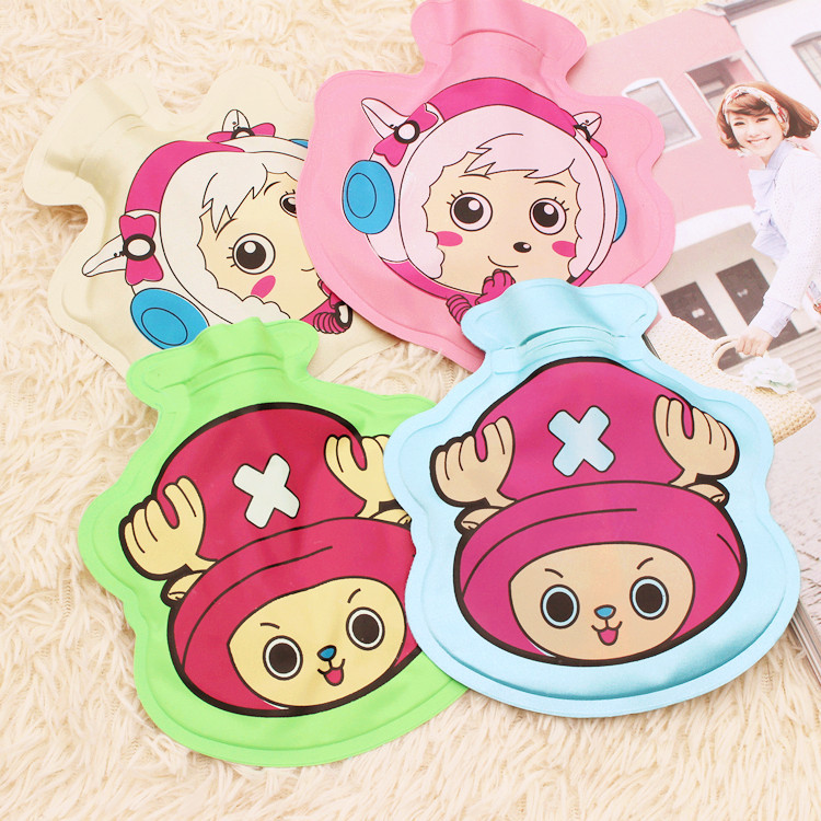1pc Cartoon Printed Feeding Bottle Shape PVC Explosion-proof Children PVC Hot Water Bag Hand Warmer Storage Water Bag 1781HW lovely cartoon charging electric hot water bag environmental protection material safety explosion proof anti warm water bag