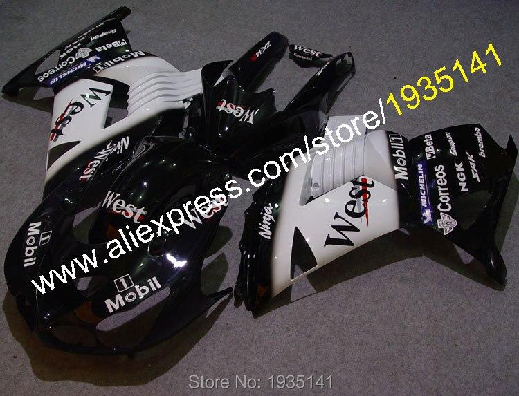 Caliente venta para Kawasaki ZX14R 06 07 08 09 10 11 Ninja de plástico ABS carenados ZZR 1400 ZX-14R 2006-2011 piezas (moldeo por inyección)