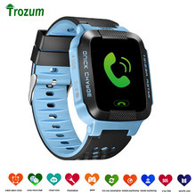 Q528 Y21 Q42 GPS Children Smart Watch With Camera Flashlight Baby Watch SOS Call Location Device Tracker Kid Safe vs Q750 Q100(China)