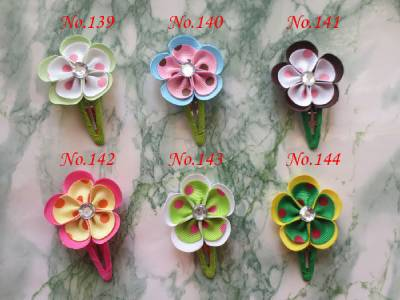 hand customize hair accessories FREE SHIPPING 108PCS Good Girl BLESSING Latest Vogue Style 2 Grosgrain Flower Snap Clip 252 электро скороварка good blessing home yp40d 2l 2 5l