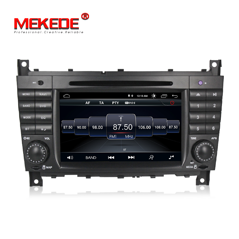 Venda quente! mekede android8.1 multimídia gps do carro dvd player Do Carro para Mercedes Benz Sprinter Viano Vito CLK Classe C W203 C200 W209