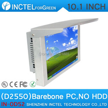 Low-cost Barebone Driving Check System All in One PC with Intel Atom D2550 Processor 10 inch Contact Display