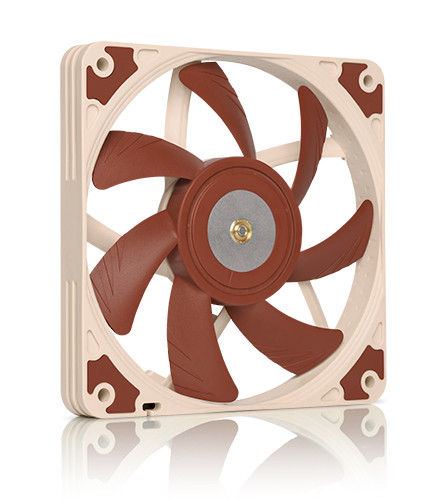 Noctua NF-A12x15 PWM FLX PC Computer Cases Towers CPU processor 12mm fan COOLERS fans Cooling fan Cooler fans 80 80 25 mm personal computer case cooling fan dc 12v 2200rpm 45cm fan cable pc case cooler fans computer fans