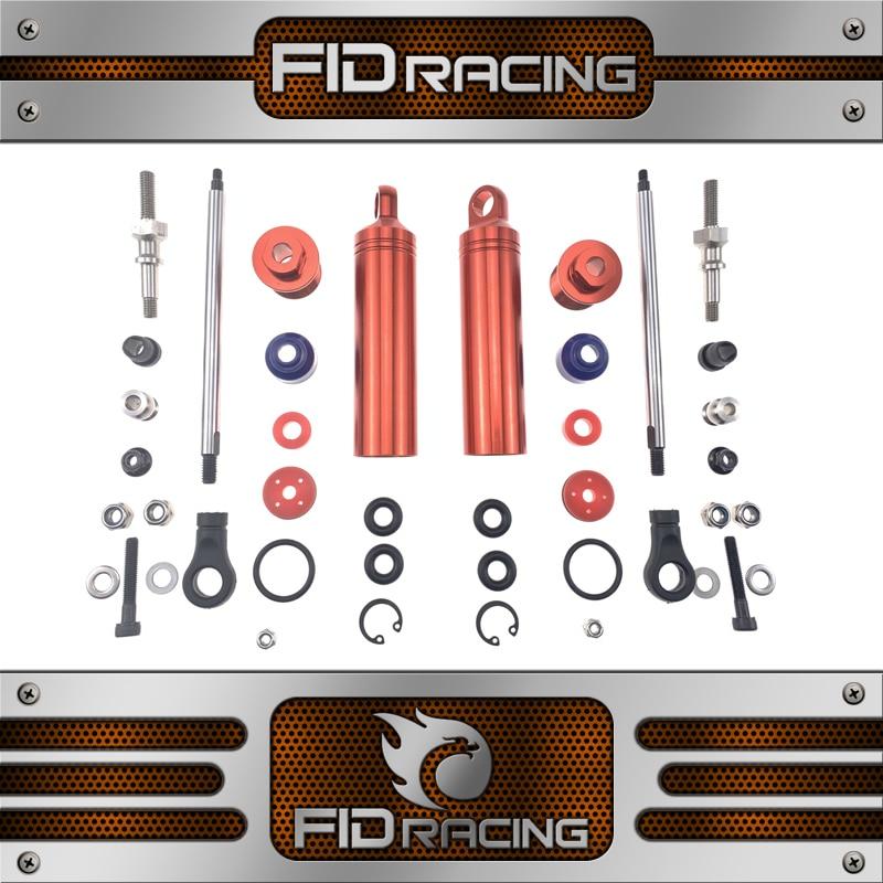 Wyścigi FID ze stopu amortyzator tylny amortyzator dla smok młotek voltz w Części i akcesoria od Zabawki i hobby na  Grupa 1