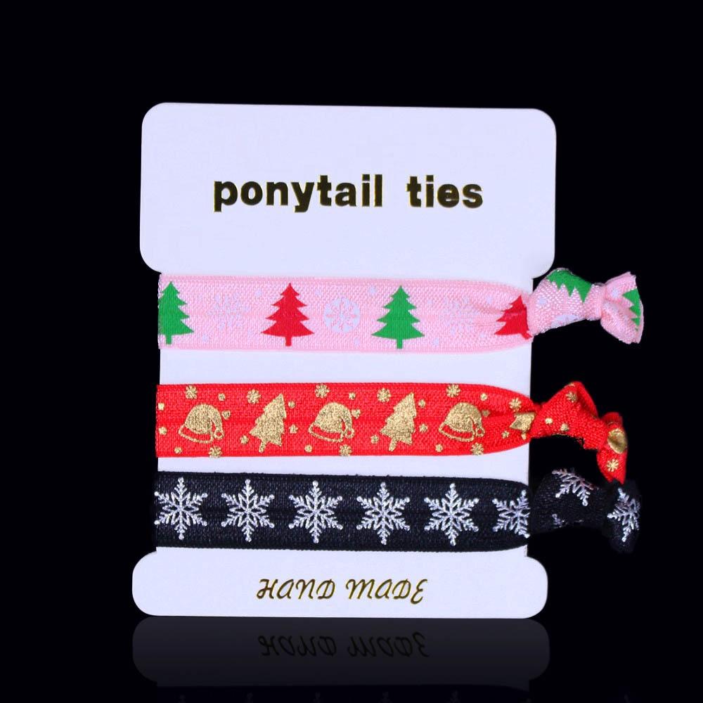 Christmas foe Christmas elastic unicorn foe hair tie Christmas unicorn foe-5//8