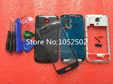 Original Replacement Parts for samsung galaxy s4 mini I9190 I9195 housing full set Cover Carcase case Accessories