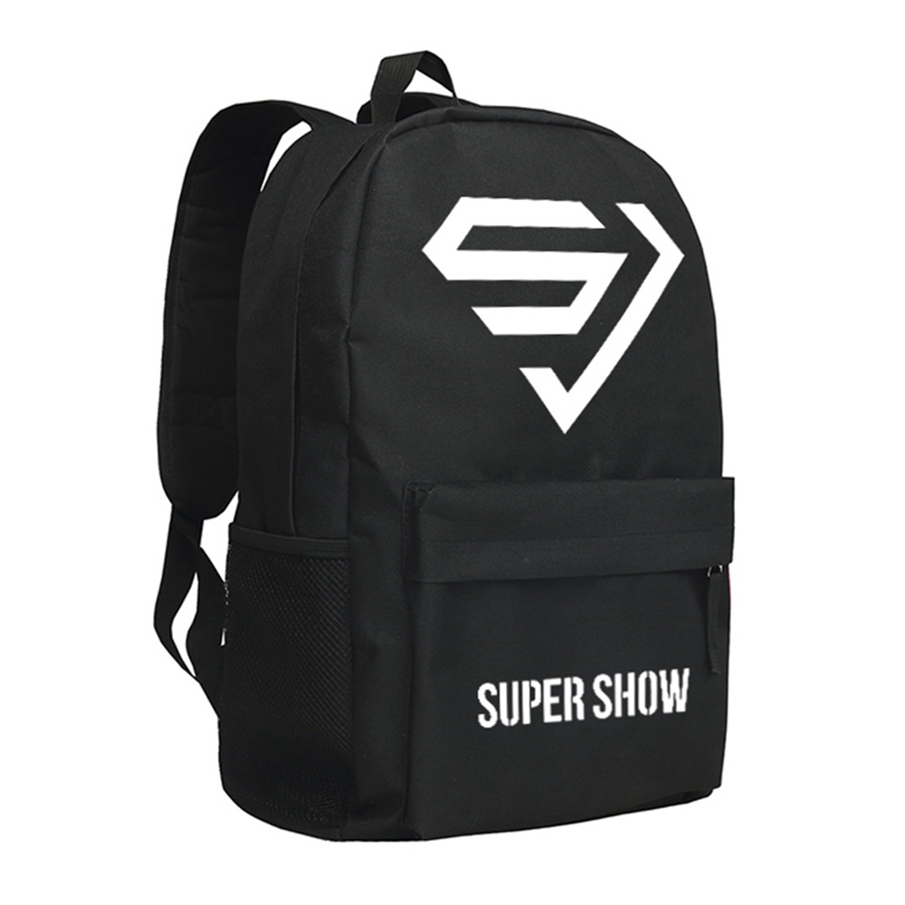 Zshop Super Junior Sac À Dos pour Les Fans Étoiles Conception Épaule Sac