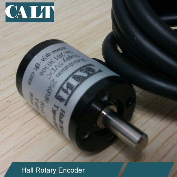 Absolute Type 12 bit Magnetic SSI Angle Hall Encoder 38mm outer diameter 6mm shaft HAE38U24V12A0.5 calt mini ssi absolute rotary encoder 12