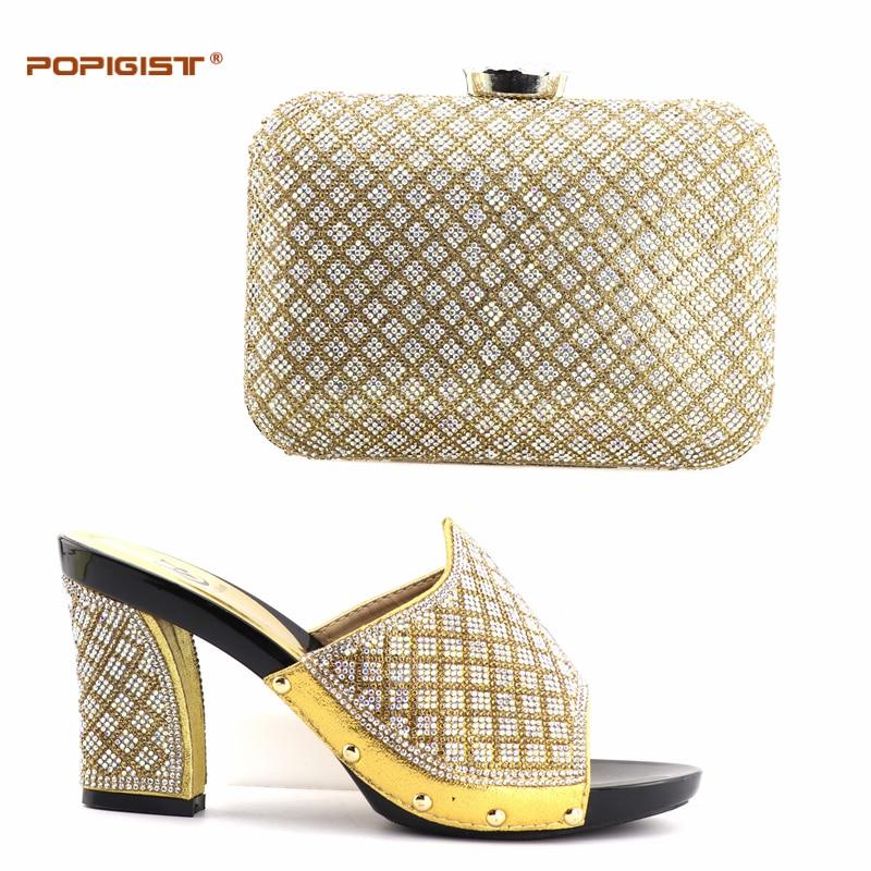 Set Einfaches Für blue Schuhe gold Mit Design Pumpen Black Leder Pu silver Hochzeit Tasche Passender Frauen Party Rot Italienische Und Grid red 81wdnq7q