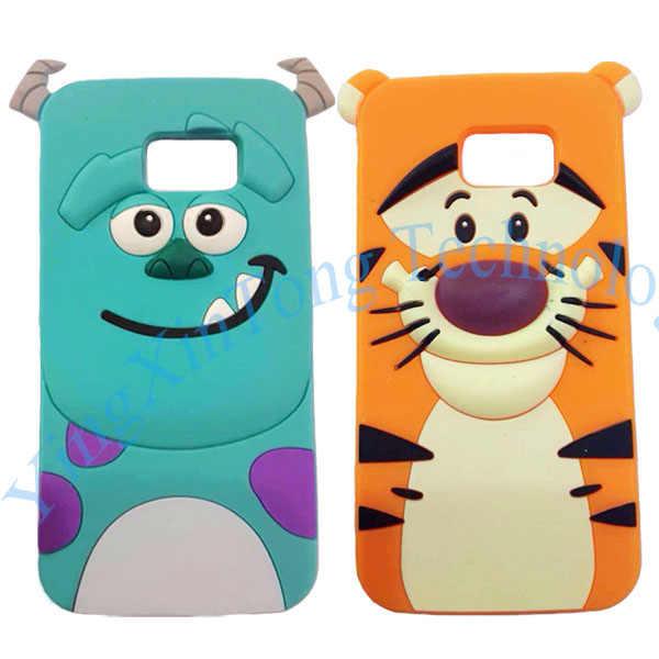 312cdcaebb1 ... 3D Mignon Cartoon Souple En Silicone Coque Pour Samsung Galaxy S8 Plus  S7 bord S6 Fundas. PRODUITS CONNEXES. Mignon de Bande Dessinée ...