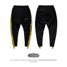 Tee7 Mens Cotton Straddle pants GameLOL Hip Hop cross-Pants Male Micro-elastic Brand Trousers Quality Outerwear