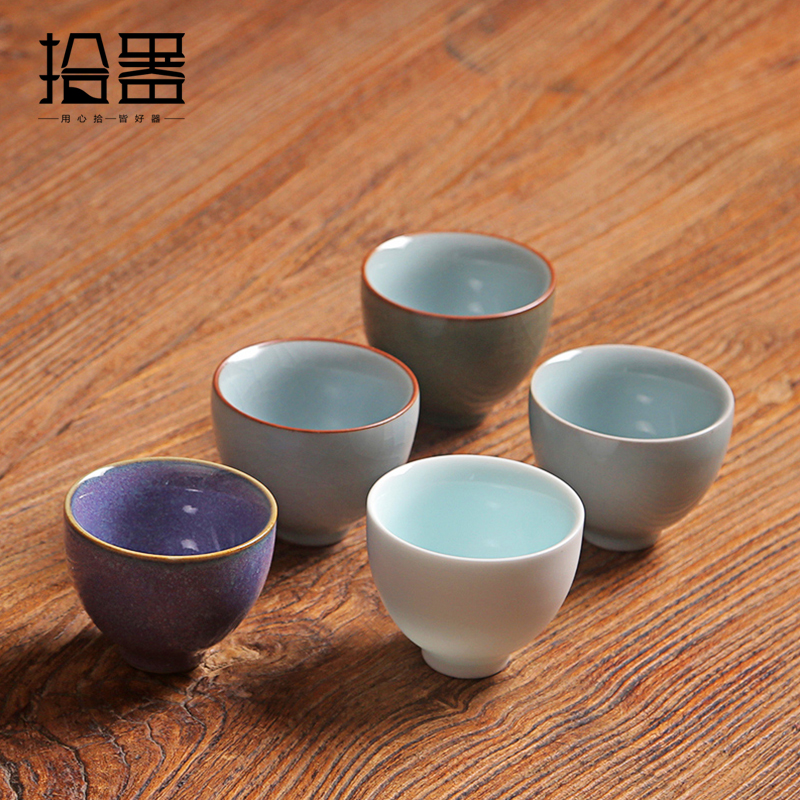 Teacup Chinese Kung Fu Coffee Tea Cups Set Ceramic Cup Porcelain Teapot Kettle Travel Cup Tasse Drinkware Decoration
