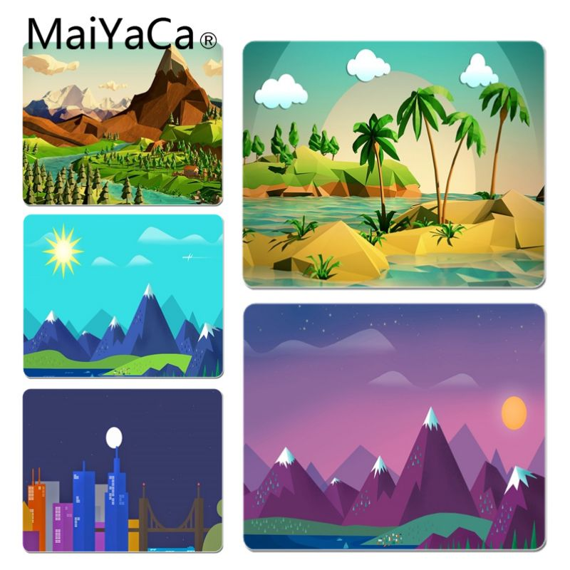 MaiYaCa Hot Sales Anime Coco and hill Customized laptop Gaming mouse pad Size for 18x22cm 20x25cm 25x29cm Game Mouse Pad