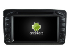 octa core android 6.0.1 Car DVD Player Radio WIFI BT For Mercedes Benz C-Class W203 CLK W209 Viano Vito W638s GPS Navigation 3G