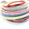 5mm Sequin leather cord/jewelry accessories/jewelry findings/hand made