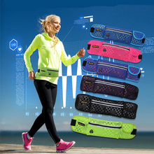 Outdoor Fitness Running Bag Multifunctional Male and Female Off-road Sports Large Capacity Slanting Mobile Belt Bags