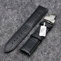 18 / 20 / 22 мм натуральная кожа наручные часы женщины мужчины часы замена наручные часы ремешок черный / коричневый PD0132-3