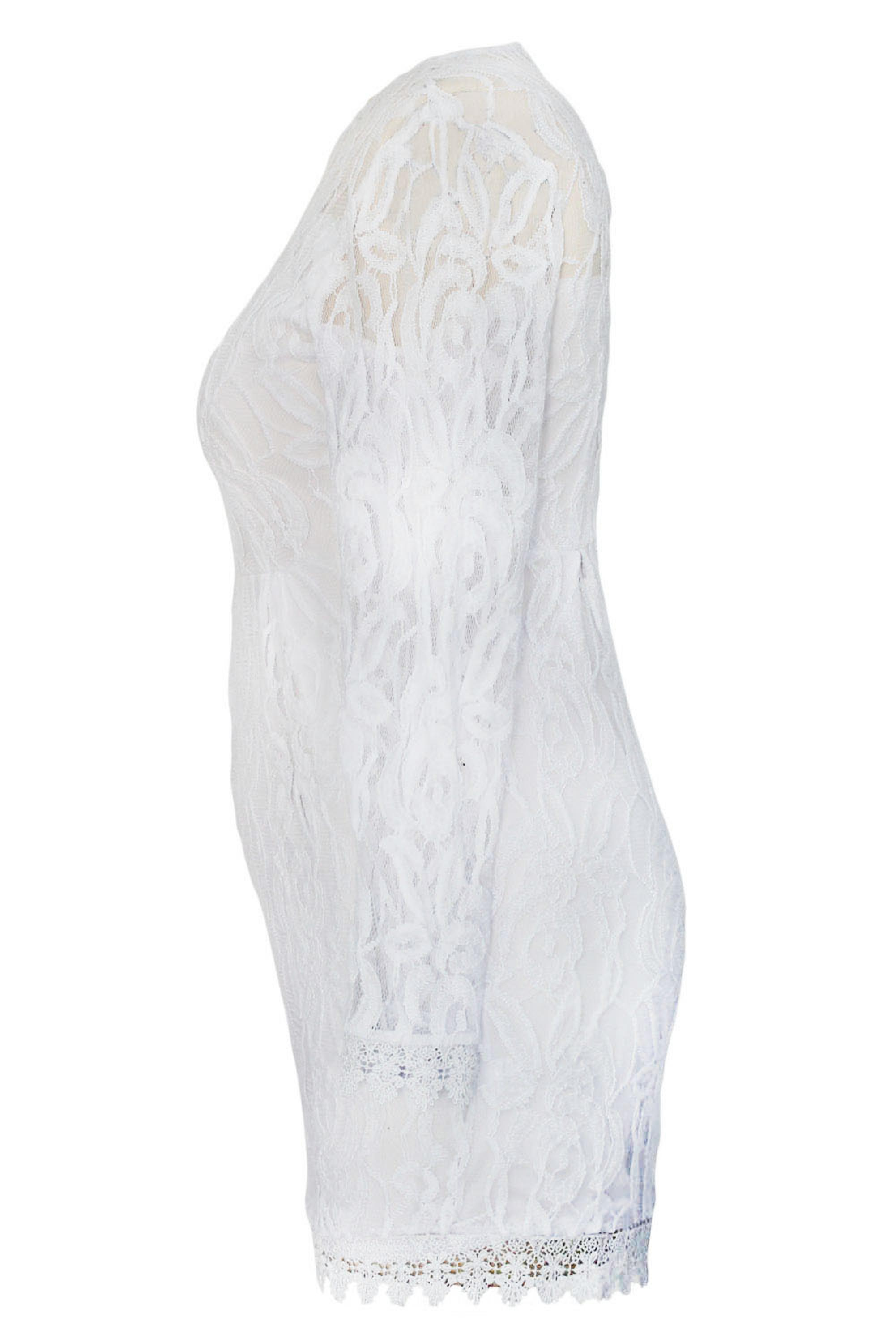 White-Plus-Size-Long-Sleeve-Lace-Romper-LC60599-1-4