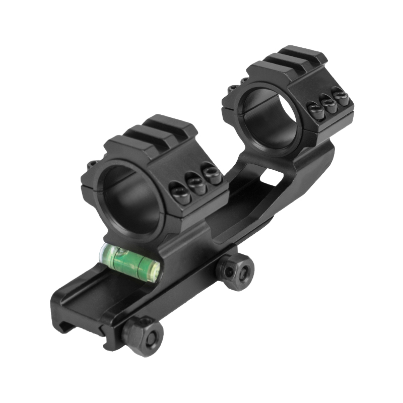 WESTHUNTER Tactical Adjustable One Piece Picatinny Rail Scope Mounts Hunting Accessories Bubble Level 1 Inch/30mm Scope Rings