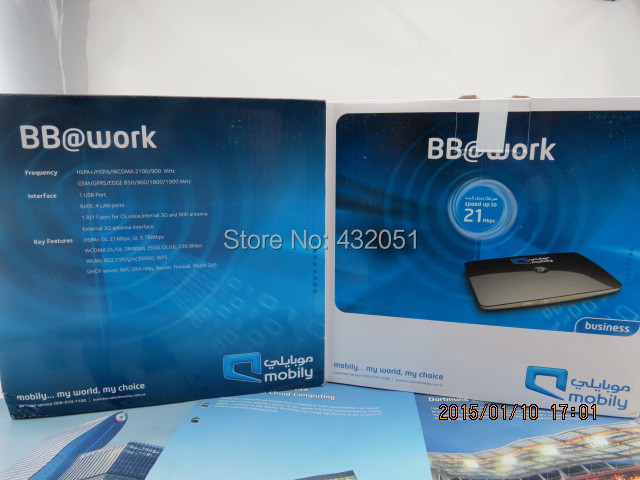 Sem fio 4 g, Wi fi router 28 m, Desbloqueado Huawei b683, Brand new b683