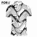 FORUDESIGNS Brands Men Polo Shirt Ralpmen 3D Printed Summer Slim Fit Breath Mens Polo Shirts Short Sleeved Tommis Crocodile Polo
