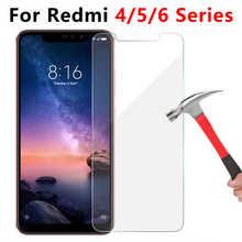 Gehärtetem Glas Für Xiaomi Redmi Hinweis 5 6 Pro 5a 6a 4a 4x4 X EINE Schützende Glas Auf die Ksiomi Rot Mi Nicht Notizen A4 A5 A6 X4 Note5