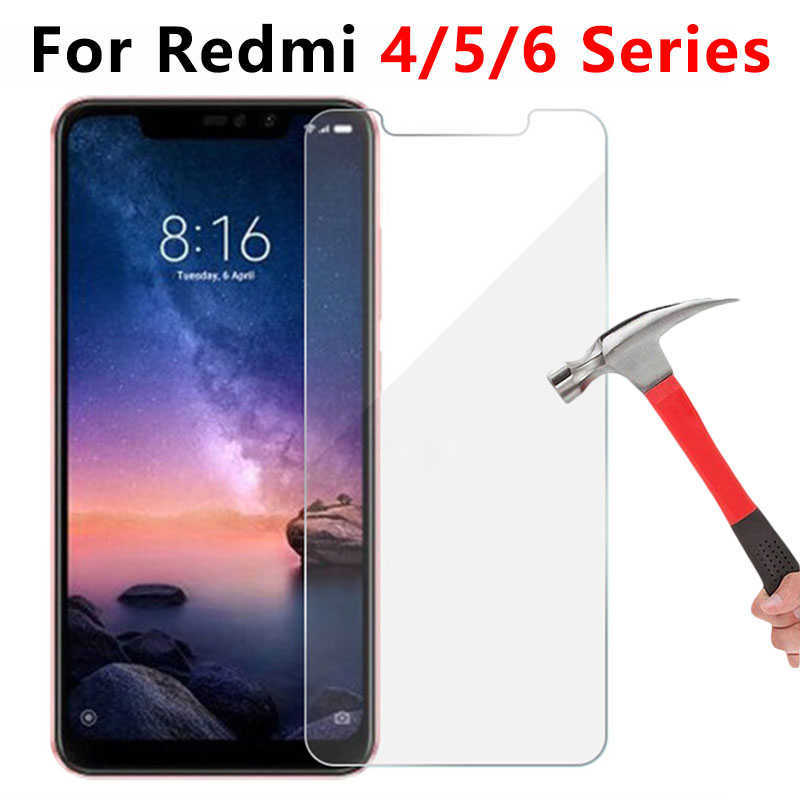 Tempered Glass For <font><b>Xiaomi</b></font> <font><b>Redmi</b></font> Note 5 <font><b>6</b></font> Pro 5a 6a 4a 4x 4 X A Protective Glas On The Ksiomi Red Mi Not Notes A4 A5 A6 X4 Note5 image