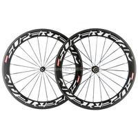 Superteam Carbon Rad 60mm carbon Drahtreifen Rennrad Räder 23mm Breite Fahrrad Carbon Räder