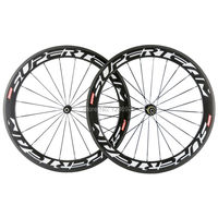Superteam Carbon Wheel 60mm carbon Clincher Wheelset Road Bike Wheels 23mm Width Bicycle Carbon Wheels