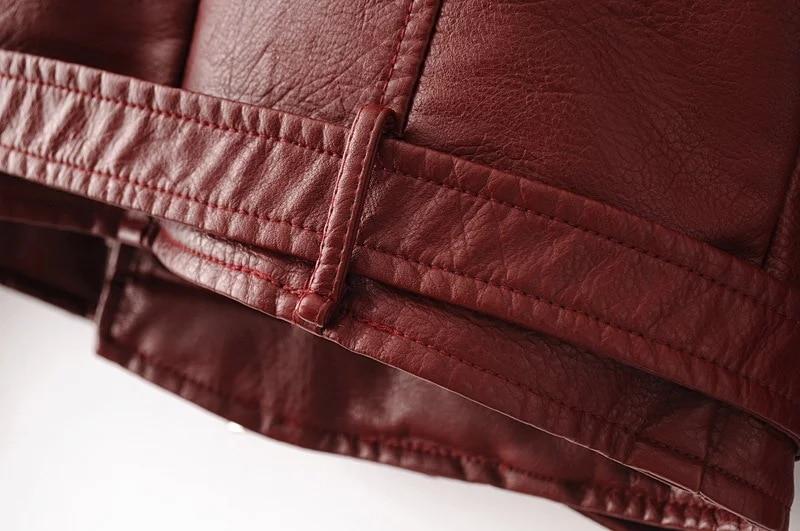 HTB13PZrcC3PL1JjSZPcq6AQgpXaX Aelegantmis Autumn New Short Faux Soft Leather Jacket Women Fashion Zipper Motorcycle PU Leather Jacket Ladies Basic Street Coat