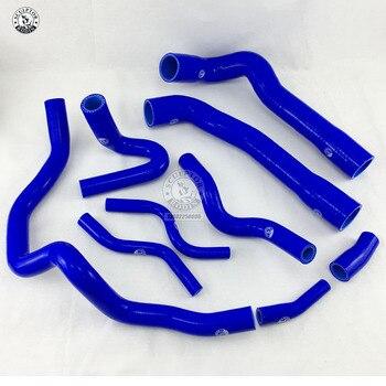Silikonowy wąż chłodnicy silikonowy wąż płynu chłodzącego zestaw do BMW E36 M3 325i 316i 1992 ~ 1999 (europejskiego modelu) (9 sztuk) czerwony/niebieski/czarny