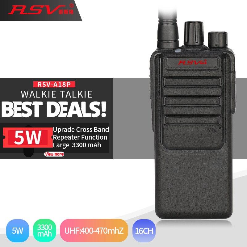 Walkie Talkie A18P 5 watt Walkie Talkie BF-C1 Günstige Pofung Radio 5 watt 16CH UHF 400-470 mhz Walkie talkies