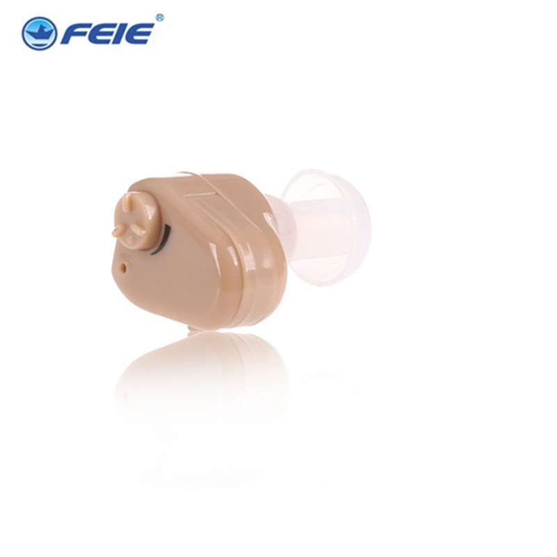 Headphone Ear Care Deaf Aid Volume Sound Amplifier Super Mini Hearing Aid S-900 Free Shipping In US russia hearing aids invisible headphone analog hearing aid ear tips deaf sound enhancement s 188 free shipping hot sell
